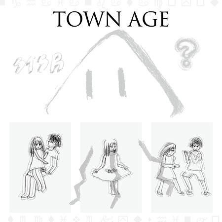相対性理論『TOWN AGE』ジャケット