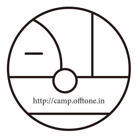 『CAMP Off-Tone 2013』ロゴ