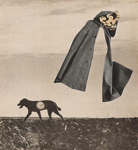 岡上淑子『はるかな旅』 1953年 コラージュ、紙 高知県立美術館蔵 ©Toshiko Okanoue, 2013