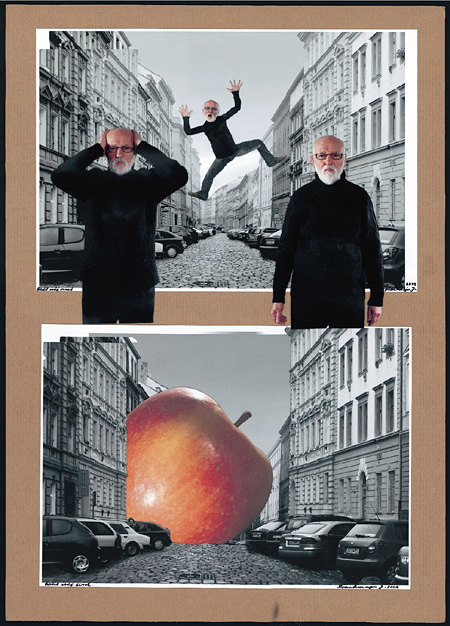 ヤン・シュヴァンクマイル『映画「サヴァイヴィングライフ」のためのコラージュ』 2009年 ペトル・ホリー氏蔵 ©Jan Svankmajer, 2013