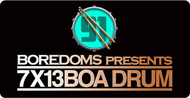 『FREEDOMMUNE 0<ZERO> ONE THOUSAND 2013』<BOREDOMS presents 7×13 BOA DRUM>ロゴ