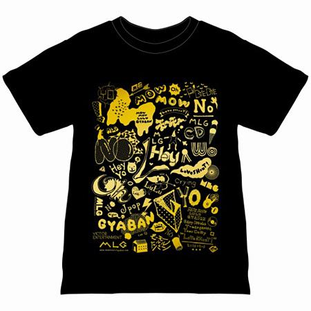 モーモールルギャバン『LoVe SHouT!』限定盤に付属するTシャツのイメージビジュアル
