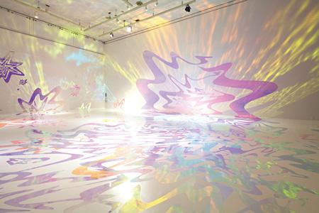 『鳴る光』2011年 横浜市民ギャラリー 撮影:山本慶太