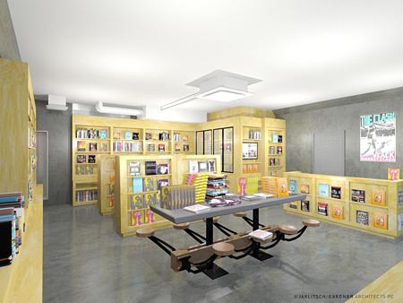 「BOOKMARC」原宿店イメージビジュアル ©JAKLITSCH / GARDNER ARCHITECTS PC