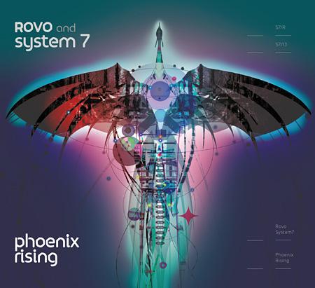 ROVO&SYSTEM 7『Phoenix Rising LP』ジャケット