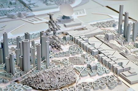 藤村龍至 中央広小路ビル2階 参考作品『海市2.0』2010 提供:藤村龍至建築設計事務所