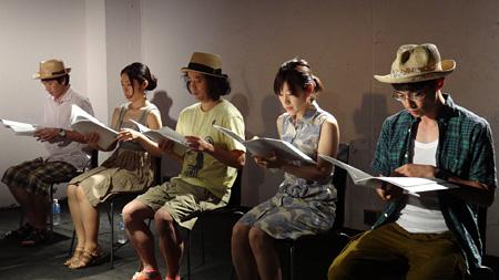 『夏の終わりの妹』リーディング公演の模様