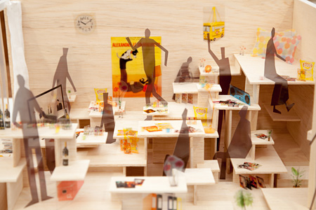 『ABLE&PARTNERS TOKYO DESIGNERS WEEK』過去の会場風景 by LUKE HAYES