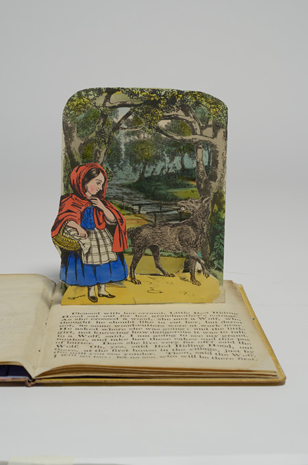 Little Red Riding Hood. London : Dean & Son, [ca.1855].