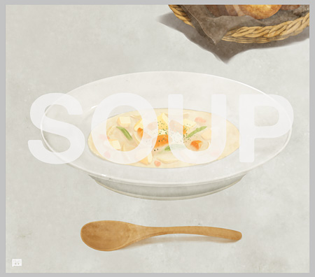 古川本舗『SOUP』ジャケット