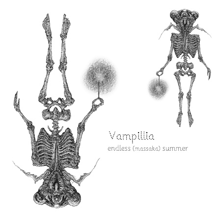Vampillia『endless (massaka)summer』配信版ジャケット