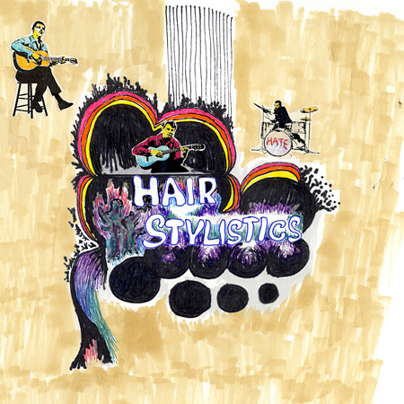 Hair Stylistics『Dynamic Hate』ジャケット
