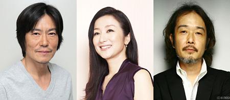 左から豊川悦司、鈴木京香、リリー・フランキー ©2014「ジャッジ!」製作委員会