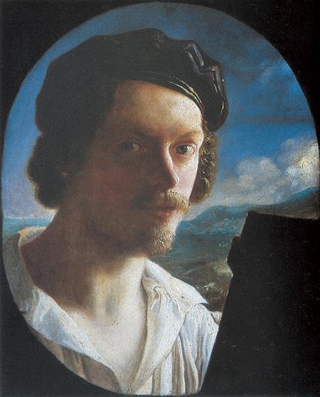 ジュゼッペ・ベッツォーリ『自画像』1818年頃油彩・キャンヴァス © Galleria d'arte moderna di Palazzo Pitti
