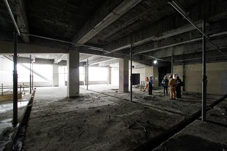 旧東京電機大学地下