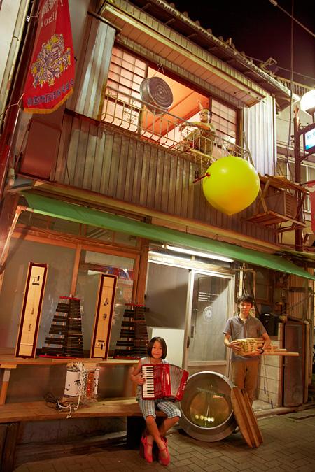 『未来楽器図書館』(2013年)撮影:大塚歩