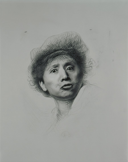 『表情研究III』 1994年 ©Yasumasa Morimura