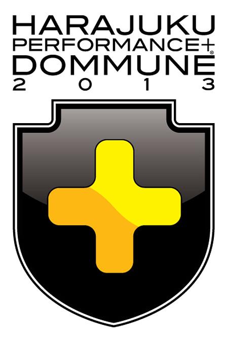 『HARAJUKU PERFORMANCE + DOMMUNE 2013』ロゴ