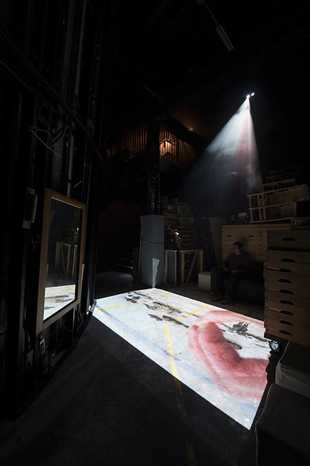 アサヒ・アートスクエア グローアップ・アーティスト・プロジェクト 2012 蓮沼執太展『音的』 撮影:加藤 健