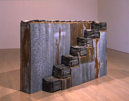 白川昌生『基準-日本』1990年(1994年改変、再制作)北九州市立美術館蔵