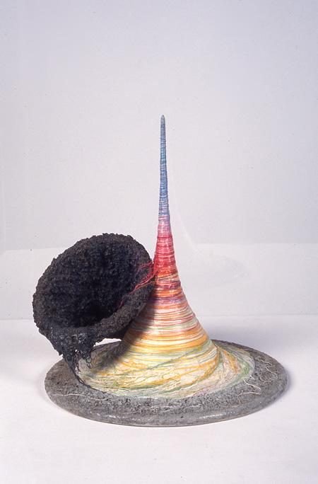 工藤哲巳『ブラックホールとワルツをどうぞ……』1982年 個人蔵 ©ADAGP, Paris & JASPAR, Tokyo, 2013