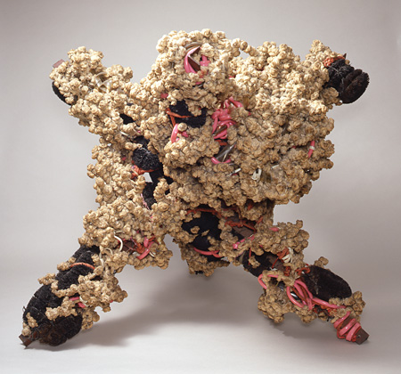 工藤哲巳『X型基本体に於ける増殖性連鎖反応』1960年 東京都現代美術館蔵 ©ADAGP, Paris & JASPAR, Tokyo, 2013