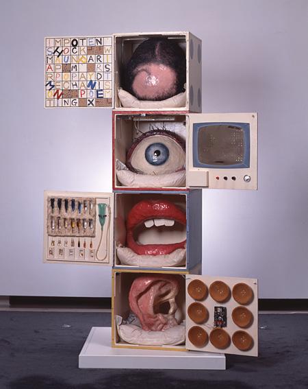 工藤哲巳『あなたの肖像』1963年 高松市美術館蔵 撮影:高橋章 ©ADAGP, Paris & JASPAR, Tokyo, 2013