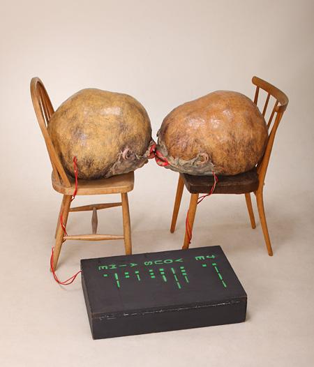 工藤哲巳『愛』1964年 倉敷市立美術館蔵 ©ADAGP, Paris & JASPAR, Tokyo, 2013