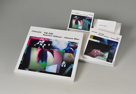 渋谷慶一郎+初音ミク『ATAK020 THE END Keiichiro Shibuya+Hatsune Miku』完全生産限定盤ボックス収録内容