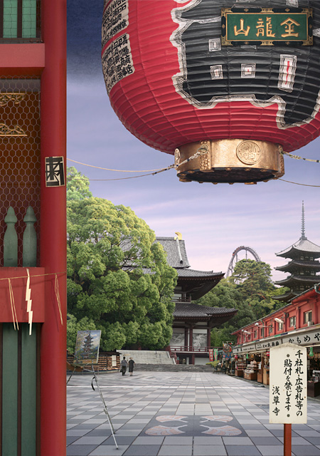 Emily Allchurch エミリー・オールチャーチ『Tokyo Story 8: Temple