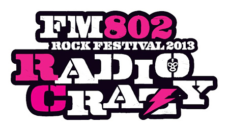 『FM802 ROCK FESTIVAL RADIO CRAZY』ロゴ