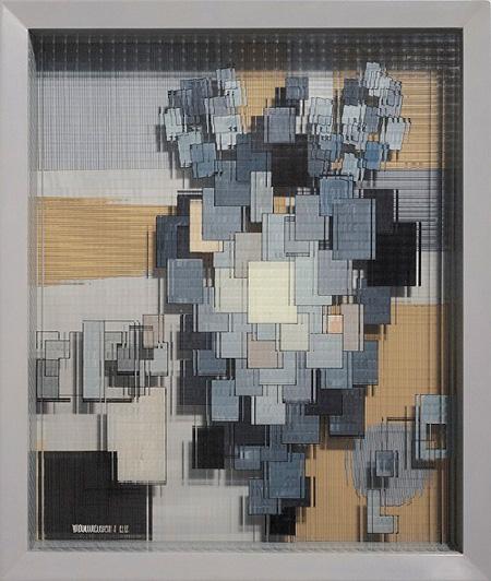 山口勝弘『ヴィトリーヌ No.37』1953年 神奈川県立近代美術館蔵