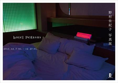 『野村佐紀子写真展 hotel pegasus』ビジュアル