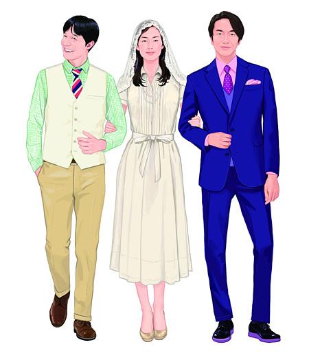 『ボクの妻と結婚してください。』イメージイラスト(Illustration:サイトウユウスケ)