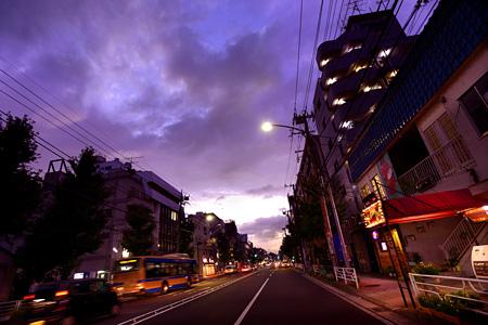 本牧のメインストリート(撮影:森日出夫)