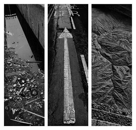 ジョセフ・クーデルカ『カオス』より ノール=パ=ド=カレー、フランス(1986年)/ウェールズ、イギリス(1997年)/ウェールズ、イギリス(1997年) ©Josef Koudelka / Magnum Photos