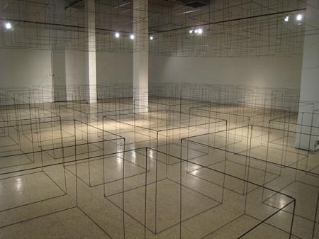 川上りえ『Living Cube』2009年 『Living Cube』展/The Lab (サンフランシスコ、カリフォルニア州)展示風景