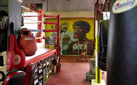 野口ボクシングジム Photo:Keiji Takashima