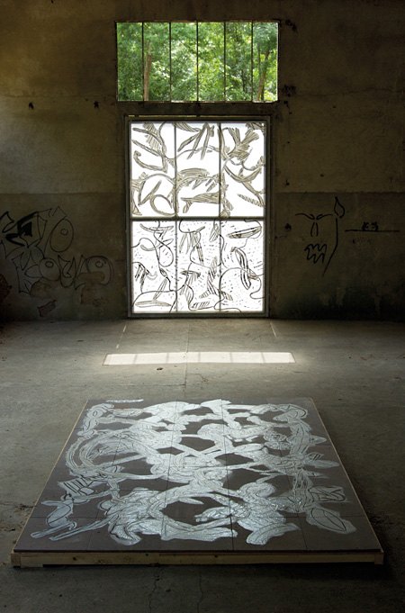 Installation view at Les Tanneries, Amilly, 2007 Photo:©Camille Bonnefoi