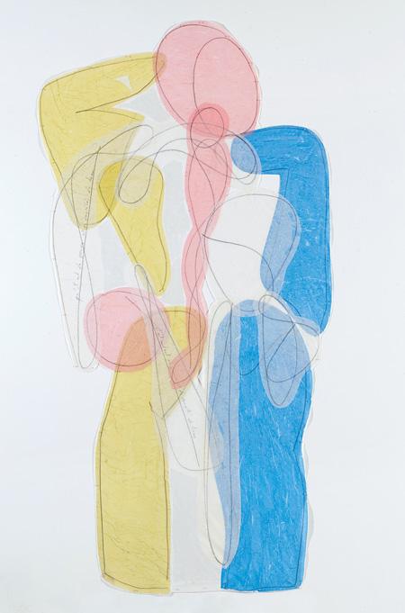 Dos《Hermès》, 2009, 190 x 95 cm Photo:©Camille Bonnefoi