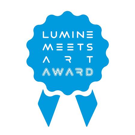 『LUMINE meets ART AWARD 2013』ロゴ