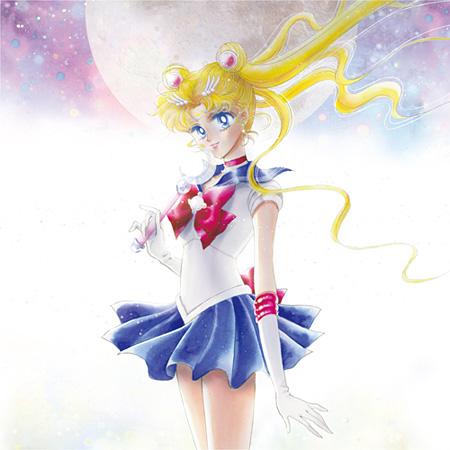 V.A.『美少女戦士セーラームーン THE 20TH ANNIVERSARY MEMORIAL TRIBUTE』ジャケットイラスト ©Naoko Takeuchi