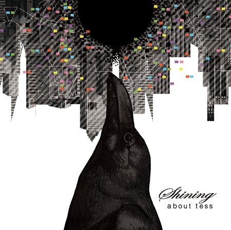 about tess『shining』ジャケット