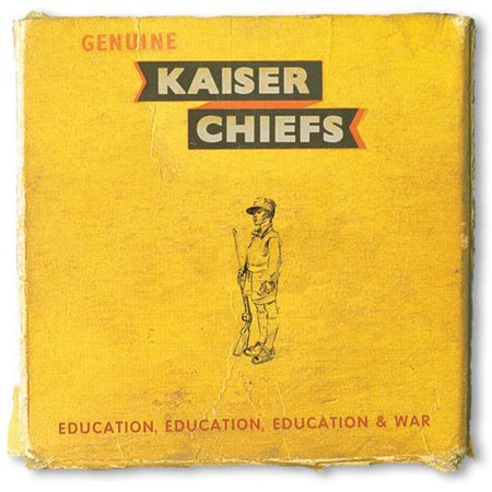 Kaiser Chiefs『Education, Education, Education & War』ジャケット