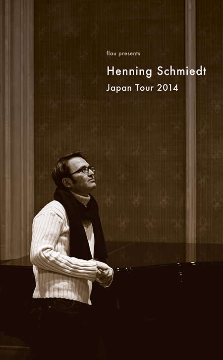『Henning Schmiedt Japan Tour 2014』ビジュアル