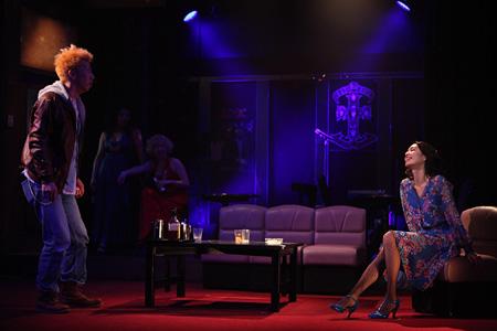 舞台『ジルゼの事情』の模様
