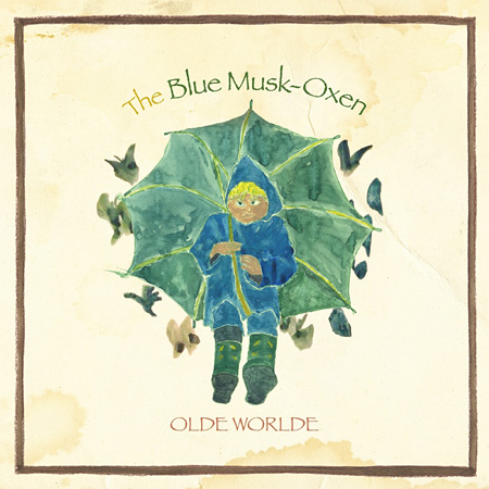 OLDE WORLDE『The Blue Musk-Oxen』ジャケット