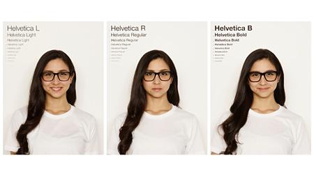 Helveticaの着用イメージビジュアル