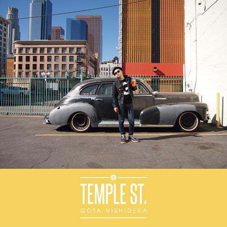 西寺郷太『Temple St.』ジャケット