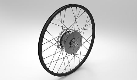フォン・ウェン『E-Wheel』